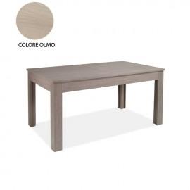allungabile in legno nobilitato colore olmo 160/320x90 cm