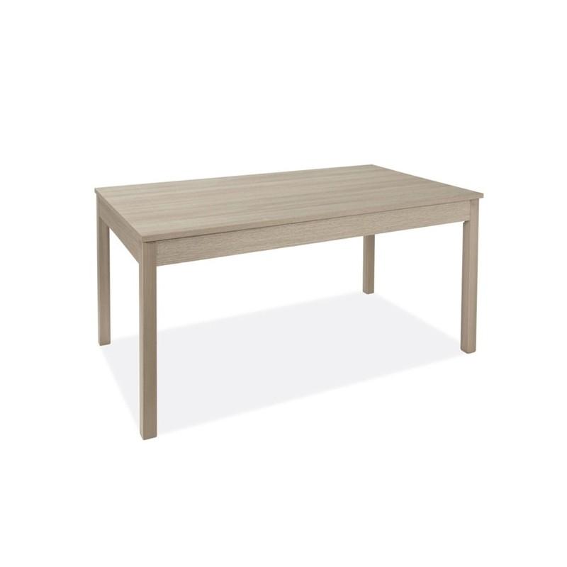 Tavolo pranzo allungabile interamente legno nobilitato cm 90x160/200 Olmo