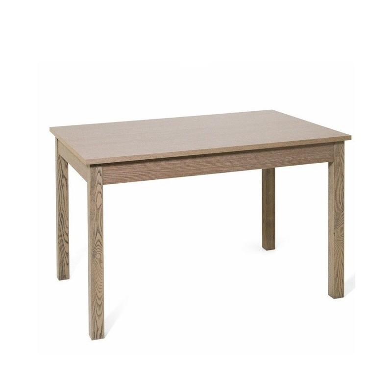 Tavolo pranzo allungabile interamente legno nobilitato cm 90x160/200 larice
