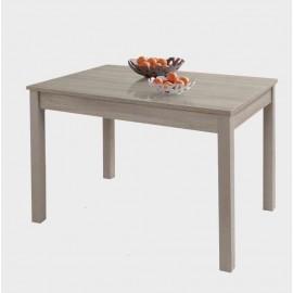 Tavolo pranzo allungabile Olmo in legno nobilitato cm 80x120/160