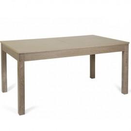 Tavolo pranzo allungabile interamente legno nobilitato cm 90x160/240 larice