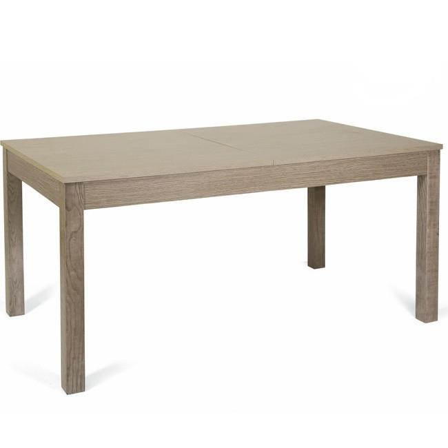 Tavolo pranzo allungabile interamente legno nobilitato cm 90x160/24...