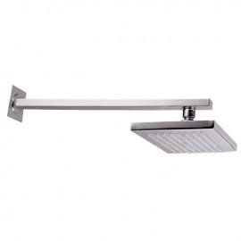 Soffione per doccia a parete finitura cromo