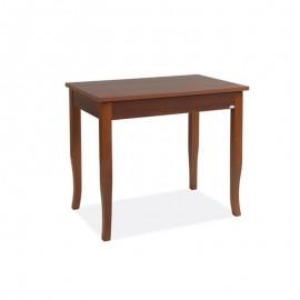 Tavolo da pranzo allungabile colore noce antico legno nobilitato 60x90/120