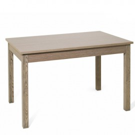 Tavolo pranzo allungabile colore olmo in legno nobilitato cm 70x110/150