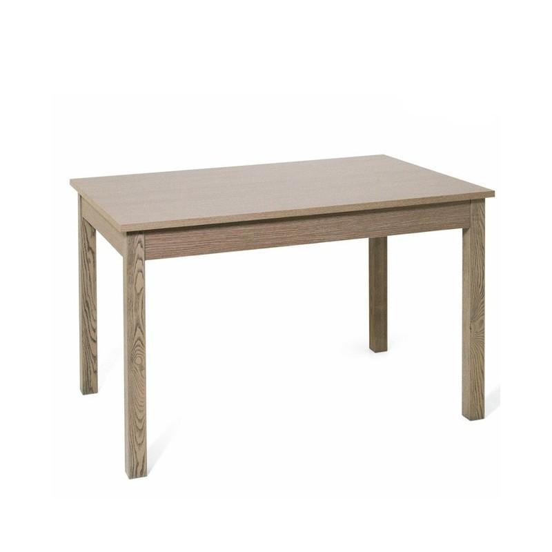 tavolo pranzo allungabile colore olmo in legno nobilitato