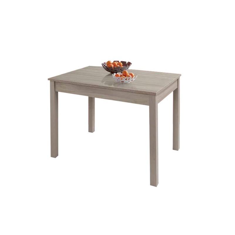 Tavolo da pranzo allungabile olmo in legno nobilitato cm 60x90/120