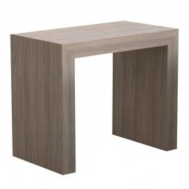 Tavolo console allungabile struttura in folding finitura olmo 90x50/300 cm