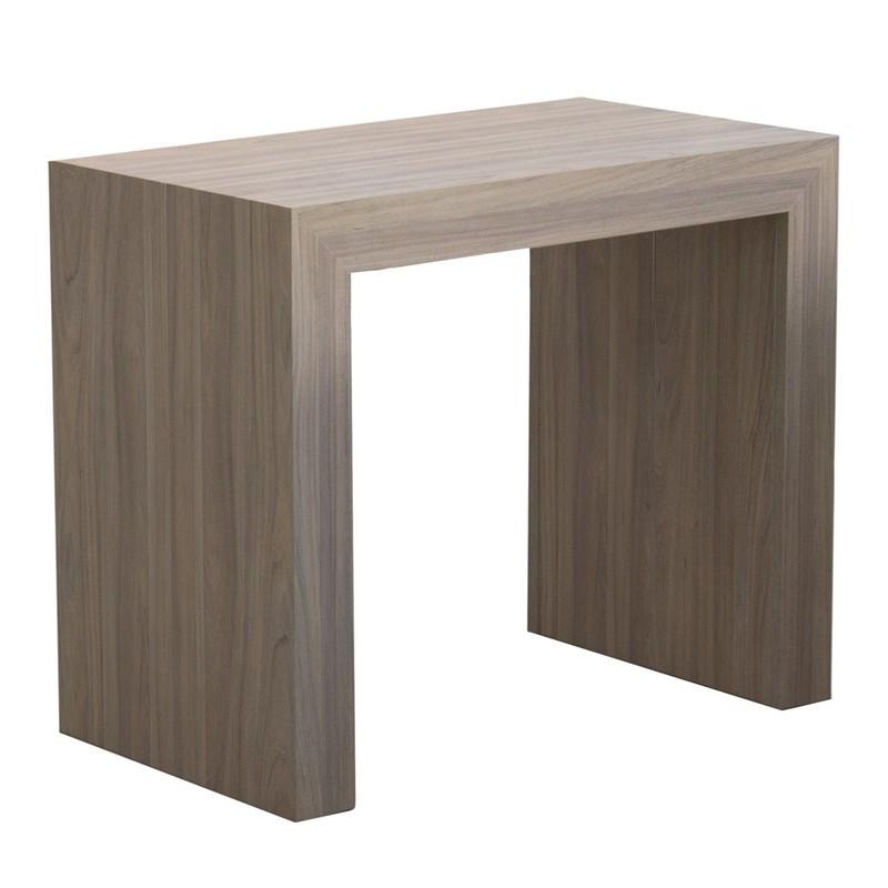 Tavolo console allungabile struttura in folding finitura olmo 90x50...