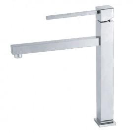 Miscelatore lavabo per bagno finitura cromo h.30x22 cm