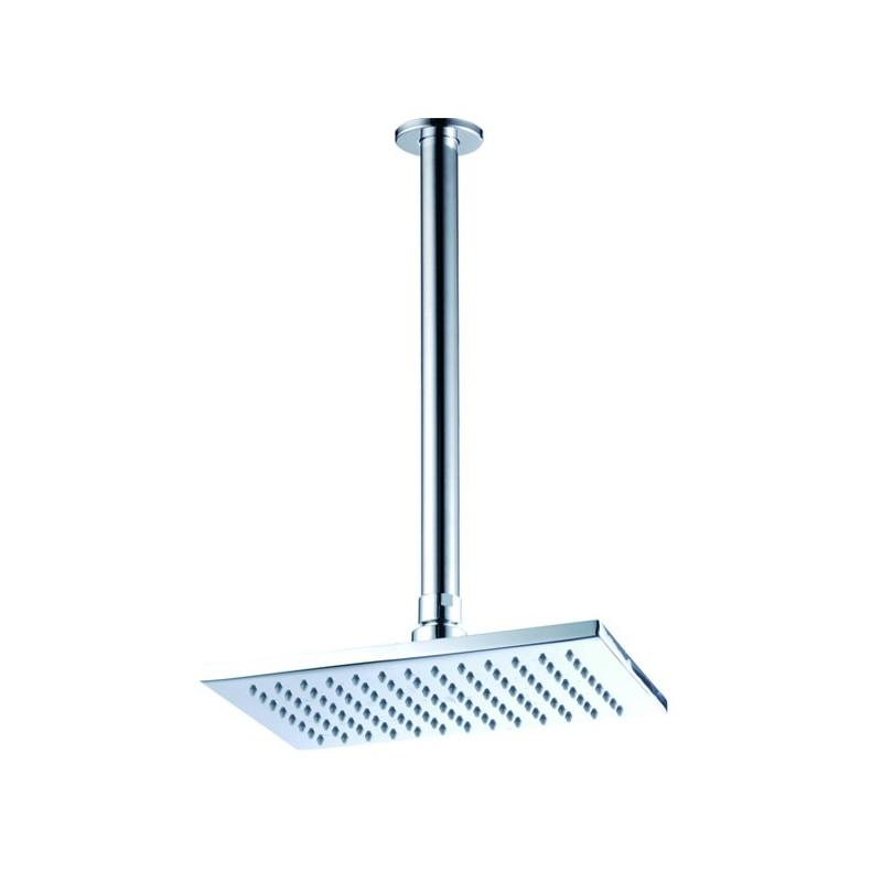 Soffione per doccia da soffitto finitura cromo - Soffione doccia a soffitto ...