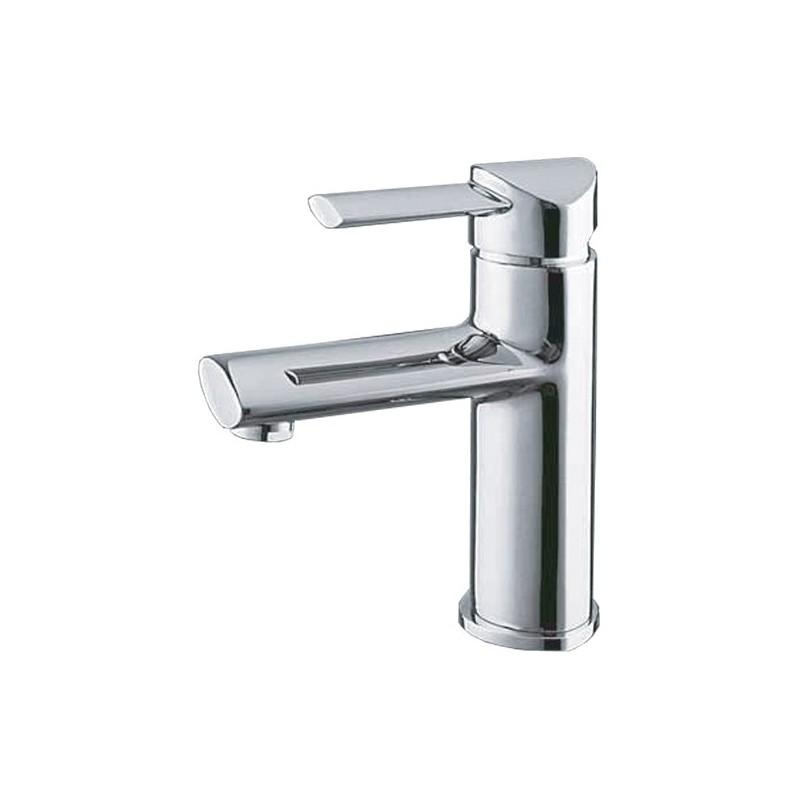 miscelatore per lavabo da bagno finitura cromo h.29x10,5 cm
