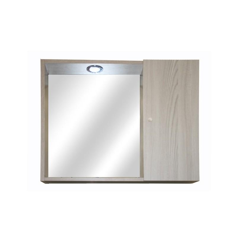 Mobile specchiera da bagno olmo 1 anta h.58x67x15 cm