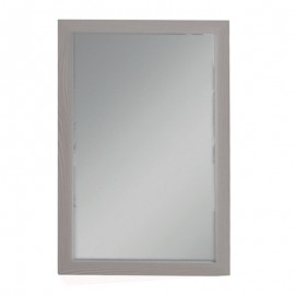 Specchio con cornice olmo 45x75cm