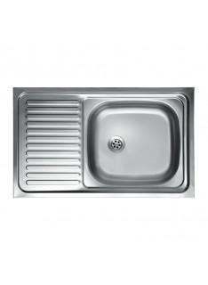 lavello-acciaio-vasca-con gocciolatoio-sx