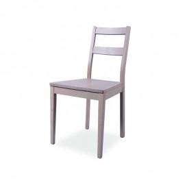 Sedia in legno di faggio olmo seduta in legno massello  45x45xh.88 cm