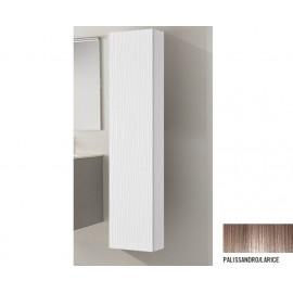 Pensile Multiuso Singolo Palissandro/Larice  in Mdf L33xP33xH163