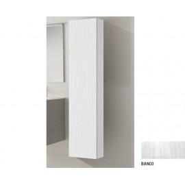 Pensile Multiuso Singolo Bianco in Mdf cm    L33xP33xH163