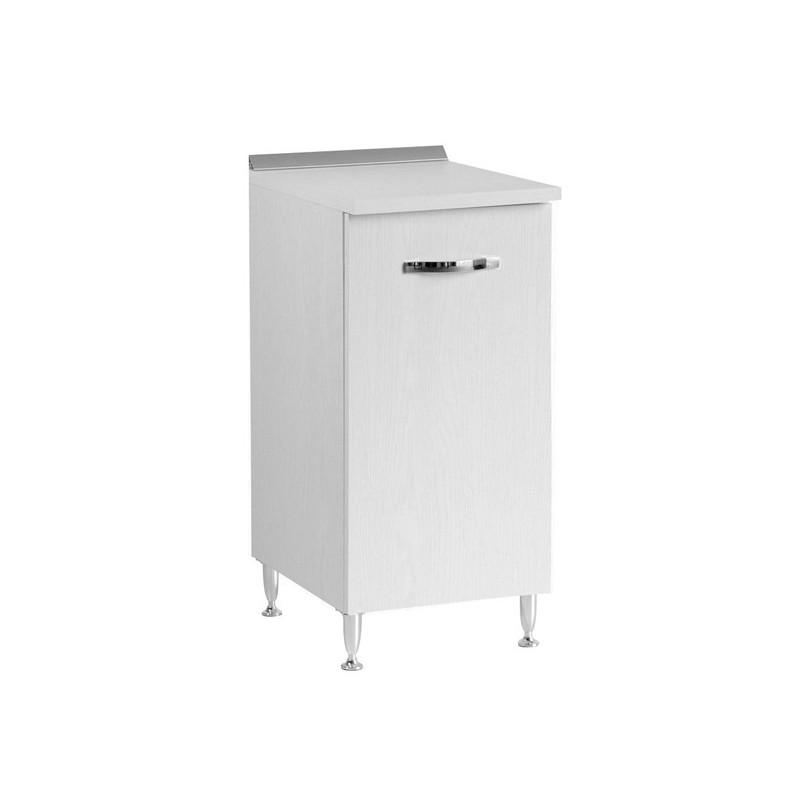 Mobile per cucina Bianco Frassinato 1 anta Cm 40x50xH 85