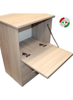 Mobile asse stiro Olmo in legno nobilitato con 3 cassetti cm 44x57xH.89