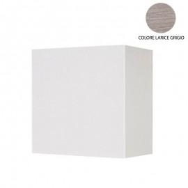 Pensile sospeso larice grigio con anta da soggiorno Cm 60x32xh.60