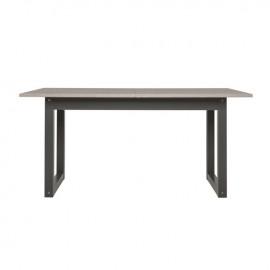 Tavolo da pranzo allungabile  piano colore rovere 160/200x90xh75 cm