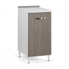 Mobile per cucina Larice Grigio 1 anta Cm 30x50xH 85