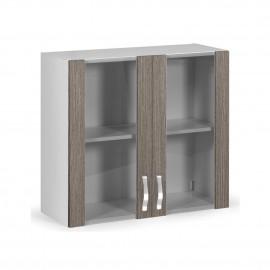 pensile-vetrina-per-cucina-2-ante-larice-grigio