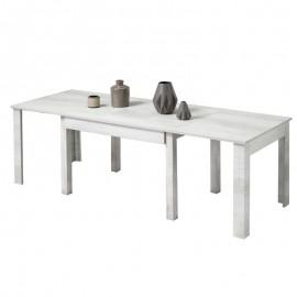 Tavolo completamente estensibile colore Betulla Bianco Oliva 160x90xh76 cm