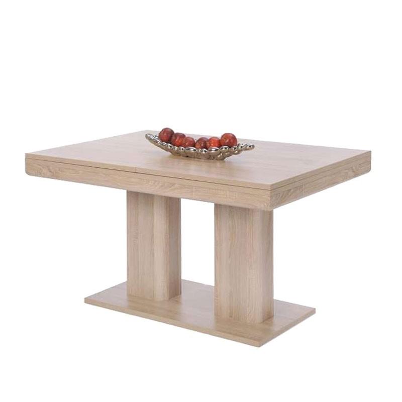 Tavolo da sala da pranzo allungabile colore rovere sonoma 140/220x90xh.80 cm
