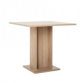 Tavolo da pranzo quadrato rovere sonoma 80x80xh.75 cm