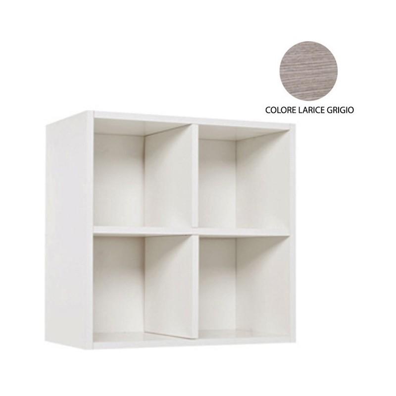 Pensile sospeso larice grigio da soggiorno s/anta Cm 60x30xH 60