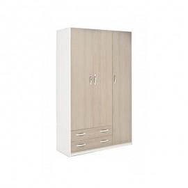 armadio-3-ante-2-cassetti-cassa-bianco-frontale-larice-grigio