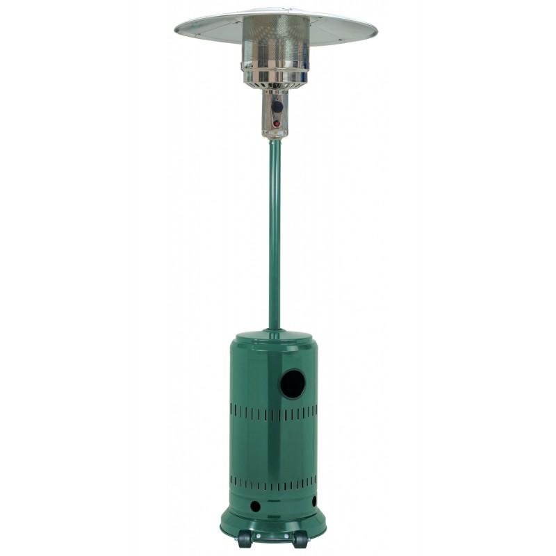Stufa aerea patio da esterno colore verde  altezza cm 220