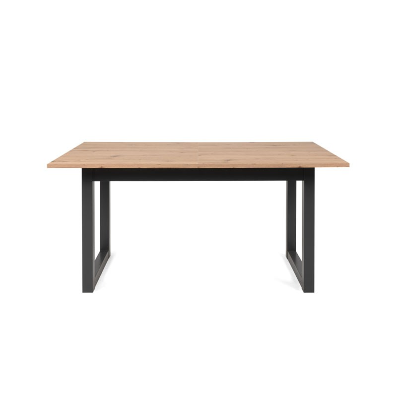 Tavolo Moderno Salotto Cucina Allungabile Quercia Cm 160 200 X 90